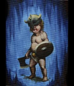 Baby Viking Tattoo
