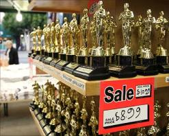 Oscars by the buttload