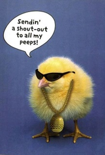 To my peeps